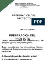 Preparacion Del Proyecto