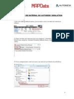 Criacao de Material No Autodesk Simulation
