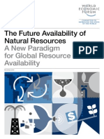 Future Availability of Natural Resources Report 2014