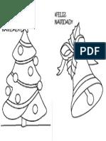 Dibujos Colorear Navidad Niños