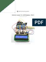 Adafruit Arduino Lesson 12 Lcd Displays Part 2