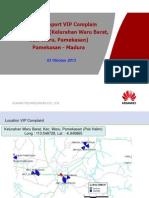 VIP Complain Report Pak Sadan ( Kelurahan Waru Barat, Kec. Waru, Pamekasan )