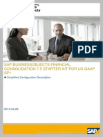 SAP BusinessObjects Financial Consolidation