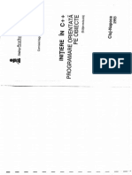 INITIERE IN C++ PROGRAMARE ORIENTATA PE OBIECTE(ED. REV)[RO][Muslea Ionut][MicroInformatica - 1993]