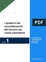 GEOSEC Quaderni consolidamento terreno con resine espandenti - N°1