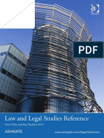 Law and Legal Studies Reference 2013