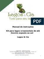 Manual Kit Lagos 3m x 2m - Exposto Ao Sol
