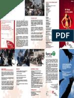 Folheto Institucional