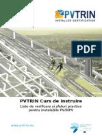 RO D3.5 Liste de Verificare u0219i Sfaturi Practice Pentru Instalau021Biile PV-BIPV [Final]