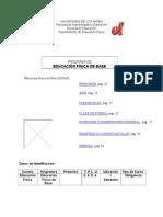 Educación Física de Base (GUÍAS)