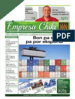 Empresa Chiki September - Oktober 2014