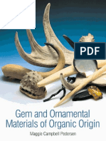 Gem and Ornamental Materials of Organic Origine