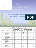 1 Introduction to Water Supply Engineering