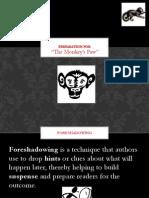 the monkeys paw pre-reading lesson