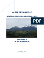 Plan Manejo Reserva Ilinizas Final