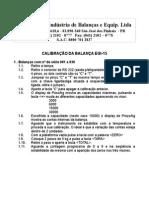 Gural - Calibração Da Balança Egi-15