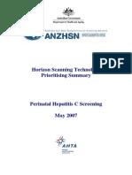 May Vol 16 No 5 - Perinatal Hep C