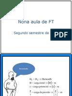 Nona aula de FT