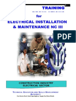 TR - Elec Inst and Maint NC III
