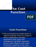 (10158) (4247) the Cost Function