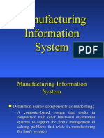 Manufacturing Information System