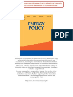 Energy Policy 35(10), 2007, 5109-5116 Author Copy