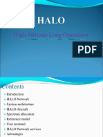 High Altitude Aeronautical Platforms - HAAPS