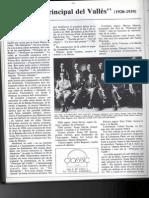 La Principal Del Vallès. Revista Quadern 48, 1985