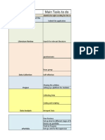 project plan and deadlines 1 1