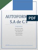Autoformas S.a de C.V.