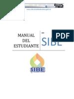 Manual SIBE Del Estudiante