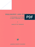 Adriaan Peperzak - Philosophy and Politics