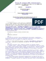 Legea 38 Actualizata 2010