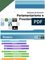 parlamentarismo e presidencialismo