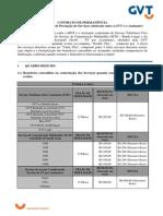 GVT - Contrato de Permanência (Fidelização)