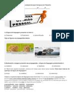 1ª Avaliação de Língua Portuguesa Do 3_ Bimestre - 8 ANO (1)