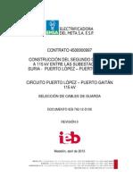IEB-792-12-D106(0) Seleccion Cable de Guarda