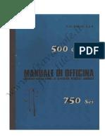 Benelli 500 Quattro e 750 Sei Manuale Officina