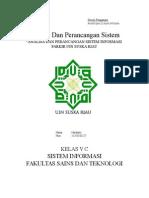 Analisa Dan Perancangan Sistem Informasi Parkir Di Universitas Uin Suska