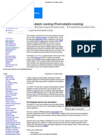 ChemEngineering - Fluid Catalytic Cracking