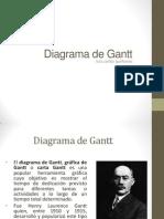 Diagrama de Gantt - Dependencias