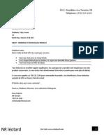 lettre standard
