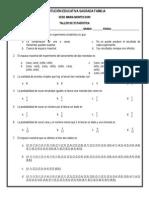 Evaluación de Estadística 5º (Probabilidad y Patrón de Cambio - 4to Periodo)