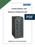b8033fxs 10-60kva Manual En