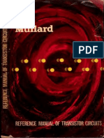 MullardReferenceManualOfTransistorCircuits1stEd1960 Text