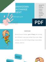 peran mahasiswa sebagai change agent