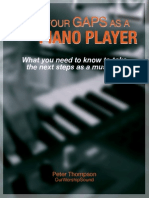 Fill in Your Gaps as a Piano Player