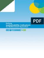 1-2010. Definiton Sustainability Indicator for Mediteranean Aquaculture