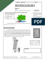 Guía Nº 8 - Movimiento Vertical de Caida Libre - HUANCAS