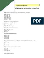 Monomios y Polinomios ER